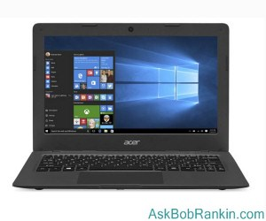 Acer Cloudbook laptop