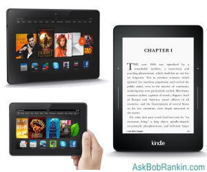 Amazon Kindle and Fire models