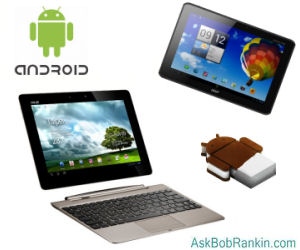 Android 4.0 Tablets