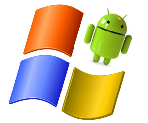 Android apps on Windows desktop