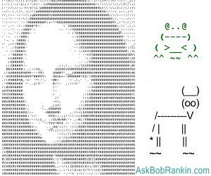 Ascii Art Internet Treasure