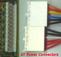 AT power connectors