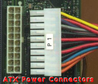 ATX power connectors