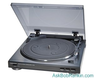 Free Online Music (Audio Technica AT-PL50 turntable)