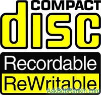 compact disc rewritable
