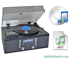 How to Convert Vinyl Records to CD or MP3