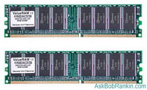 DDR2 RAM - DIMM sticks