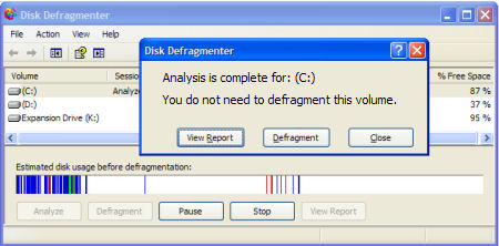 disk defragmenter pros and cons