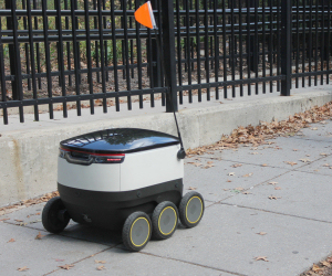 Delivery robots of the near future