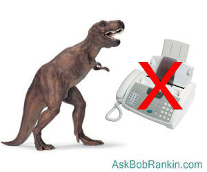 Fax Machine Dinosaur
