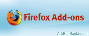 Firefox extensions and addons