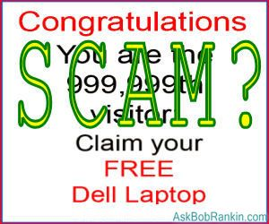 Free Laptop Scam?