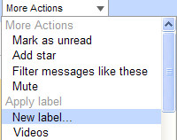 gmail labels and filters