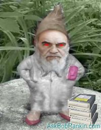 CDrom disappeared... evil gnomes to blame?