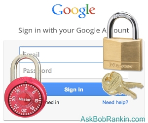 Google two-factor authentication options