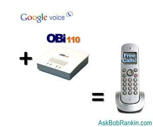 Free Calls with Google Voice + OBI110