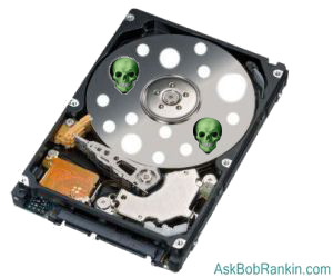 Hard Drive Virus Damage