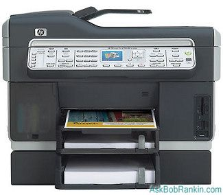 HP Officejet Pro L7780 All-in-One Printer Fax Scanner Copier