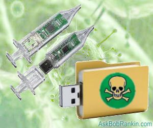 Infected Flash Drive