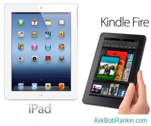 iPad versus Kindle Fire