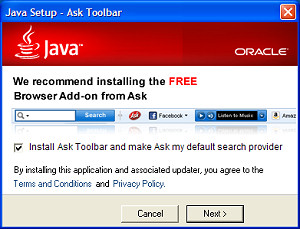 Java / Ask Toolbar
