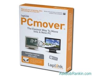 LapLink PCMover - Transfer Programs to Windows 7