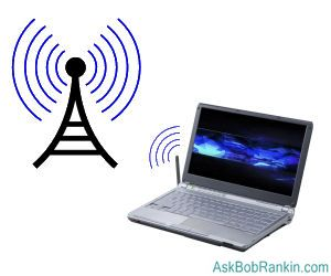 Laptop Wireless Internet Access