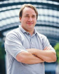 Linus Torvalds - creator of Linux