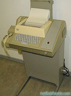 Need a new computer?  The HP Model 33 Teletype