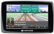 Navigon 2100 Max portable GPS