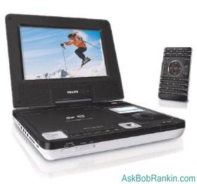 Phillips DCP750 portable DVD player
