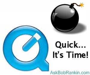 Time to remove QuickTime for Windows