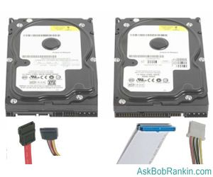 replace hard drive