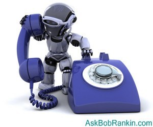 silent robocalls and ID theft