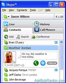 free internet calls with Skype