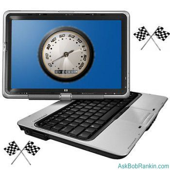 Speed up laptop