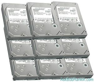 terabyte hard drives