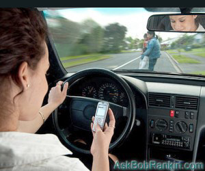Texting while Driving - Distracted Driving