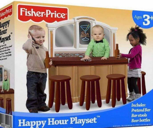 Fake News - Toddler Bar Set
