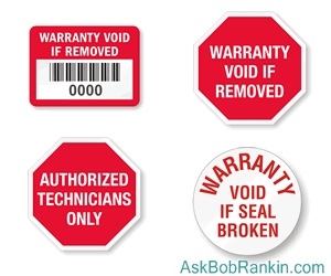Warranty Void - NOT!