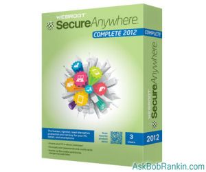 Webroot SecureAnywhere 2012 Anti-Virus