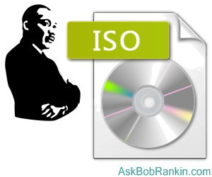 What are ISO files?