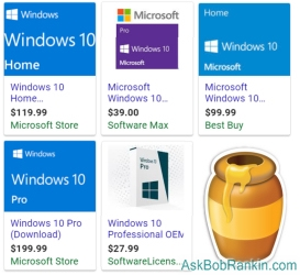 Best price for Windows 10