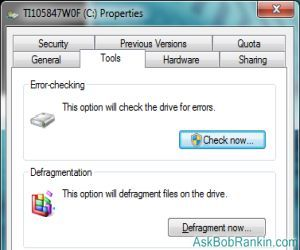 windows 7 hard drive errors