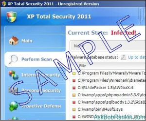 XP Total Security Virus